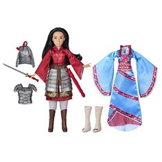 Disney Mulan Two Reflections Set, Fashion Doll with 2 Outfits and Accessories, Toy Inspired by Disney's Mulan Movie Mulan Doll, Disney Princess Dolls, Disney Dolls, Princess Toys, Barbie Dolls, New Disney Movies, Disney Live, Disney S, In China