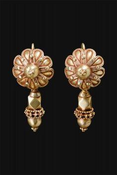 Earrings Gujarat, northwest India First half 1900
