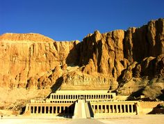 The burial temple of Hatshepshut, the most poweful female pharaoh of ancient Egypt. Located in Luxor, West Bank.