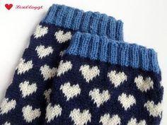Instructions: knit Norwegian socks with a simple heart pattern – socken stricken Fair Isle Knitting Patterns, Fair Isle Pattern, Heart Patterns, Cross Stitch Patterns, Cross Stitch Heart, Crafts For Girls, Knitting Socks, Knitting Projects, Knit Crochet