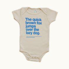 Baby Onesie Helvetica Neue Bold