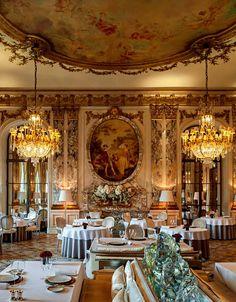 lacloserie: Hotel Meurice - Paris - Alain Ducasse restaurant Vogue.fr