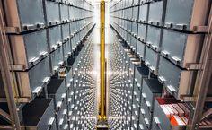 https://flic.kr/p/fBwQt2 | Mary Idema Pew Library - GVSU | The automatic retrieval system. It carries around 600,000 books.