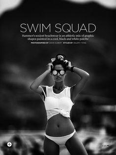 swim squad: shanina shaik by david gubert for marie claire australia november 2013