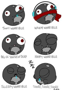 This just makes me want a worrible even more. One of my favorite squishables <3  #squishable  #cutengeeky