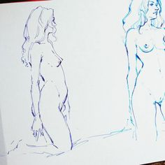 """64 Likes, 5 Comments - @rrrsnk on Instagram: """"#inksketch #pensketch #lifedrawing #lifemodel #nudelifedrawing #sketch #croquis #study #inktober…"""""""