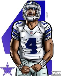 "e69d683be RG Cartoons on Instagram  ""The Cowboys get their first win! Dak Prescott  had a pretty solid performance"