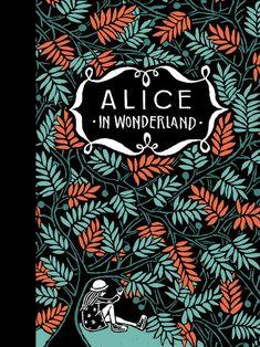 Lewis Carroll - Alice in Wonderland allt time klassieker Lewis Carroll, Alice In Wonderland Book, Adventures In Wonderland, Book Cover Design, Book Design, Art Books For Kids, Alice Book, Beautiful Book Covers, John Tenniel