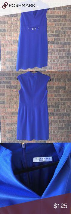 Trina Turk royal blue business dress Trina Turk royal blue business dress size 10 Trina Turk Dresses Midi