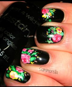 Black with floral ❤❤❤❤❤❤❤
