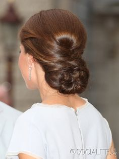 Kate Middleton updo :) So doing this when it is long enough!