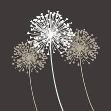 Image result for dandelion stencil svg