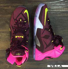 The 'Double Helix' Nike LeBron 12 Will Make You Do a Double Take