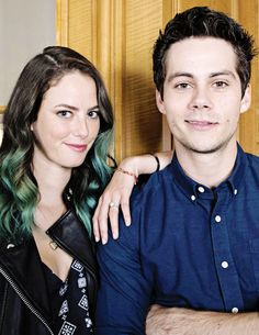 dylan o'brien and kaya scodelario for the scorch trials press tour