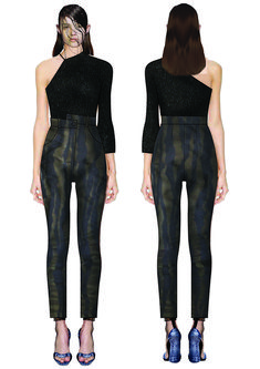 madalina buzas on Behance Fig, Art Drawings, Sketch, Behance, Jumpsuit, Rock, Illustration, Pattern, Fashion Design