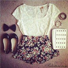 Floral n lace