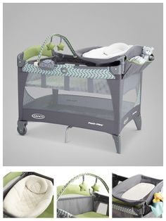 Graco Pack 'n Plays are versatile, multifunctional and fold quickly and easily.