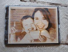 DIY picture plaque