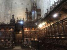 The wooden church inside the Saint Marie Cathedral -Saint-Bertrand-De-Comminges