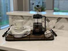 Coffee Tray -Simple Staging Ideas Home Staging Companies, Coffee Tray, Simple, Ideas, Thoughts