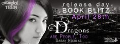 Tome Tender: Dragons Are People, Too by Sarah Nicolas ONE DAY R...