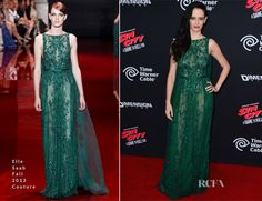 Eva Green In Elie Saab Couture - 'Sin City: A Dame To Kill For' LA Premiere - Red Carpet Fashion Awards