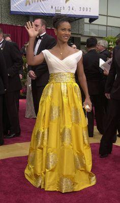 2002 Academy Awards - Jada Pinkett Amith in Antonio Canovas del Castillo for Lanvin