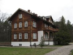 "So called: ""Plenipotent's House"" in Roztocze National Park, Zwierzyniec town, Poland"