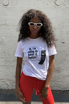 Calling on Behalf of Fashion T-Shirt - White Ford Escort, Looks Great, Lisa, Shots, Vans, T Shirts For Women, Blazer, Street, How To Wear