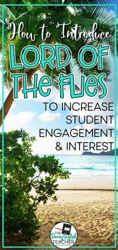 Increase student engagement and interest with this introduction activity for Lord of the Flies. Close Reading Strategies, Teaching Strategies, Teaching Tips, Teaching Grammar, Student Teaching, Introduction Activities, Kids Book Club, English Classroom, Writing Lessons