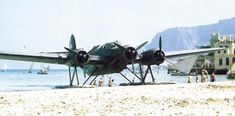 Pictures of the CANT Airone (Heron) - Maritime Reconnaissance / Bomber Floatplane. Amphibious Aircraft, Ww2 Aircraft, Military Aircraft, Italian Air Force, Flying Boat, Historical Pictures, Royal Navy, Dieselpunk, World War Two