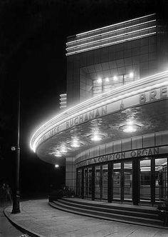 Odeon Cinema, Locking Road, Weston Super Mare, Avon England Photographer:John Maltby, May 1935