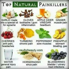 Top Natural Painkillers