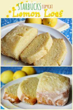 Yesterfood : Starbucks Lemon Loaf