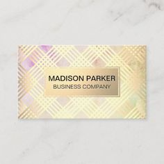 Elegant Modern Texture | Gold Metallic Lines Business Card Company Business Cards, Elegant Business Cards, Business Card Design, Gold Texture, Paper Texture, Hairstylist Business Cards, Keep It Cleaner, Smudging, Holiday Cards