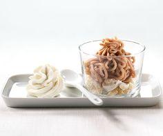#Vermicelles mit Kaffee-Schlagrahm - ein #Dessert surprise... #Rezept
