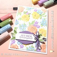 Craft Projects, Projects To Try, Diy And Crafts, Paper Crafts, Embossing Techniques, Stampinup, Embossed Cards, Card Sketches, Embossing Folder