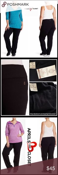 """Lounge Yoga Weekend Pants 💟NEW WITH TAGS💟  RETAIL PRICE: $58   BALANCE COLLECTION by MARIKA Black Yoga Boyfriend Lounge Pant (grey pants in the same style to show detail only)  * A super soft stretch-to-fit fabric w/lightweight fleece lining  * Elasticized & high waist  * Approx 13"""" rise & 33"""" inseam  * Wide leg; Relaxed fit  * SIZING- 1X = 14W-16W, 2X = 18W-20W, 3X = 22W-24W   FABRIC-39% Polyester, 58% Cotton, 3% spandex  COLOR-BLACK Item#   SEARCH #   🚫No Trades🚫 ✅ Offers…"""