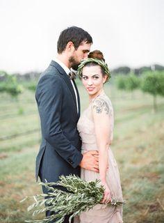 Rustic wedding inspiration ~ Half Orange Photography via Wedding Sparrow