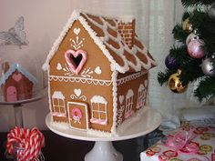 butter hearts sugar: Gingerbread House (Part One- Making and Baking)