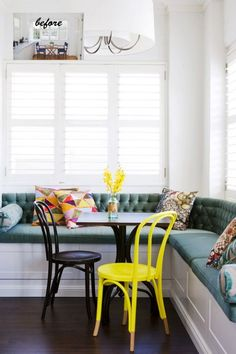 28 Trendy built in bench seating dining corner banquette Corner Bench Kitchen Table, Dining Room Corner, Dining Nook, Kitchen Nook, Corner Nook, Kitchen Ideas, Coin Banquette, Banquette Seating In Kitchen, Built In Dining Room Seating