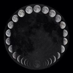 Phases of the moon: