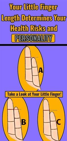 our fingers length can tell a lot about you and your health. Maybe it sounds a bit silly, but you'll be surprised at how accurate it can be. Beauty Tips For Teens, Beauty Tips For Skin, Health And Beauty, Beauty Skin, Natural Beauty, Health And Fitness Articles, Fitness Tips, Health Fitness, Wellness Fitness