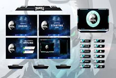 Fiverr freelancer will provide Graphics for Streamers services and design twitch and mixer overlay for your stream including Facecam within 3 days Team Logo Design, Graphic Design Services, Different Games, Media Kit, Game Logo, Overlays, Mixer, Screens, Platform