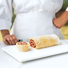 How To Roll A Jelly-Roll Cake Step by Step  instructions | CookingLight.com