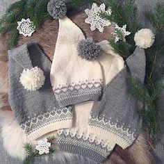 Ravelry: Baby nissejentelue og Baby nisseguttlue pattern by Frøydis Fadum Knitting Kits, Fair Isle Knitting, Baby Knitting Patterns, Knitting Projects, Crochet Patterns, Tunisian Crochet, Free Crochet, Knit Crochet, Honeycomb Stitch