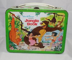 1968 Walt Disney Jungle Book Lunch Box by cebcollectibles on Etsy, $95.00