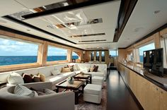 The exclusive luxury yachts of the Interior