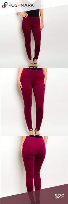 🌟 COMING SOON 🌟 Burgundy Pants. Perfect for the holiday season 🎉 Please like this listing to be notified when these pants are available for purchase! Boutique Pants Ankle & Cropped