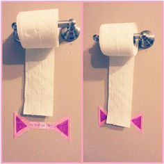 Stop kids from using too much toilet paper! 50+ Insanely, Brilliant Parenting Hacks